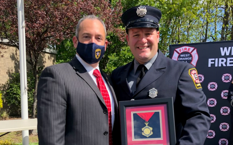 Mayor and Firefighter